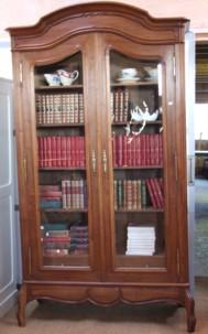 bibliotheque noyer
